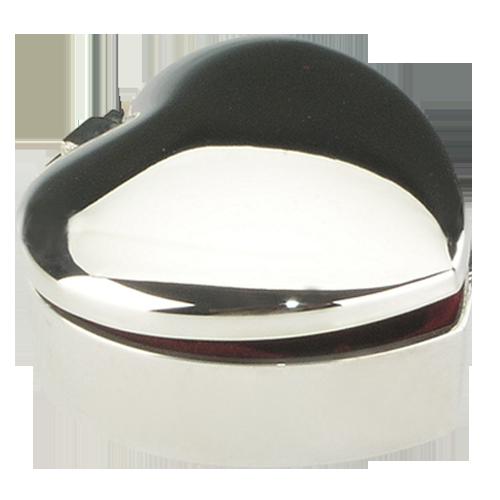 Custom Logo Printed Heart Shape Metal Jewelry Box