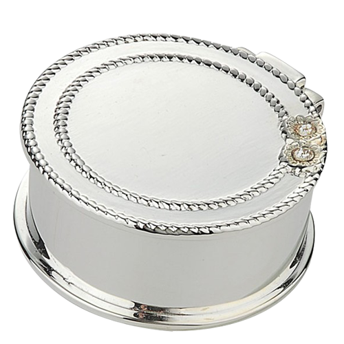 Clamshell Metal Wedding Favors and Gifts Trinket Box