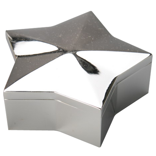 Metal Silver Plated Velvet Custom Logo Printed Jewelry Box