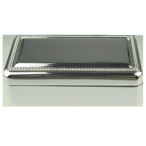 Silver Antique Jewellery Box