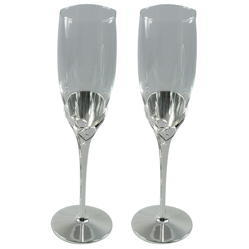 Tulip-shaped Wedding Champagne Wine Glass