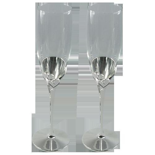 Tulip-shaped Wedding Champagne Wine Glass