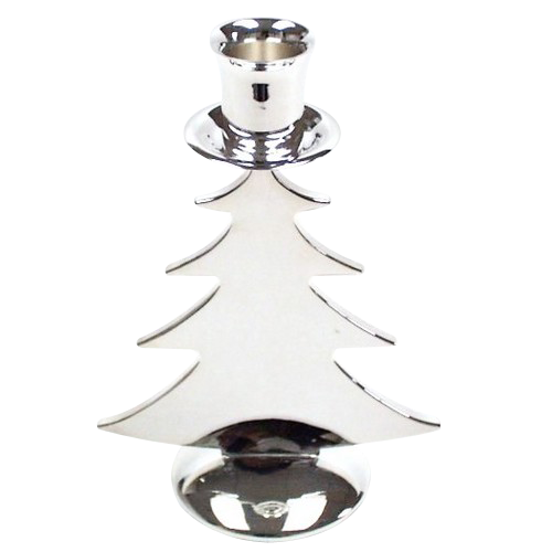 Decorative Metal Christmas Tree Candle Holder