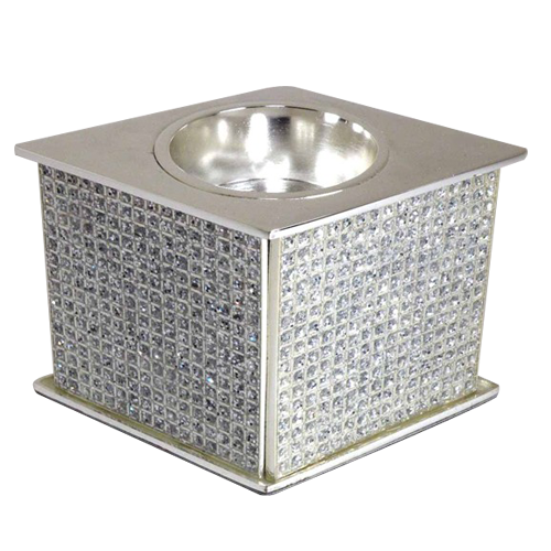 Modern Decorative Epoxy Coating Tealight Candle Holder