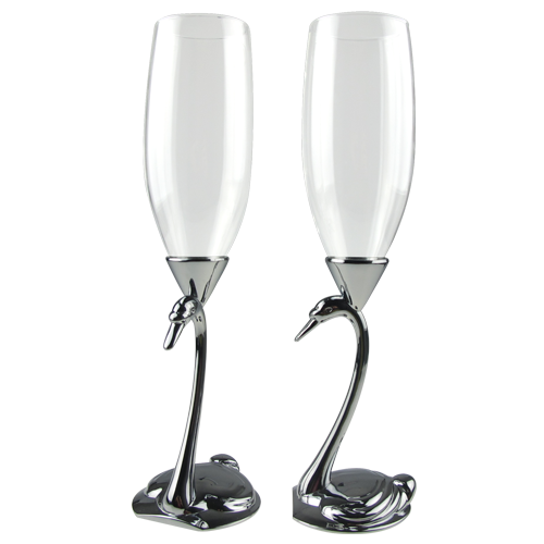 Special Design Swan Champagne Flute Wholesale
